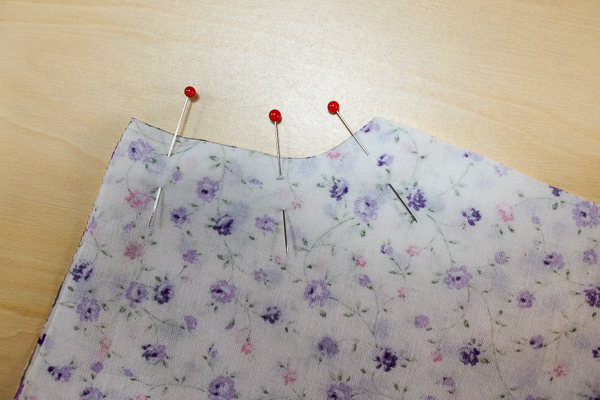Sew the front crotch seam
