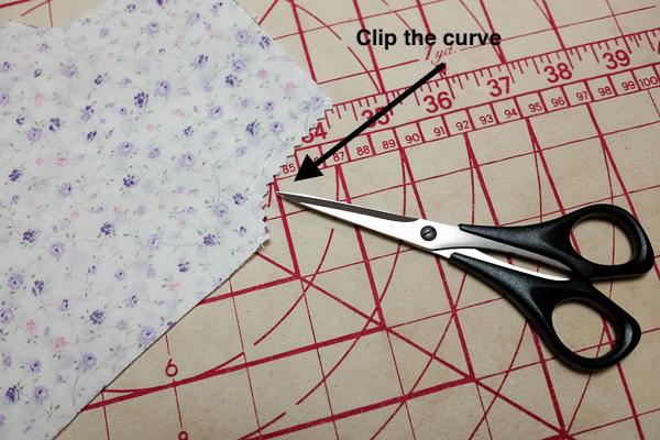 Clip the seam