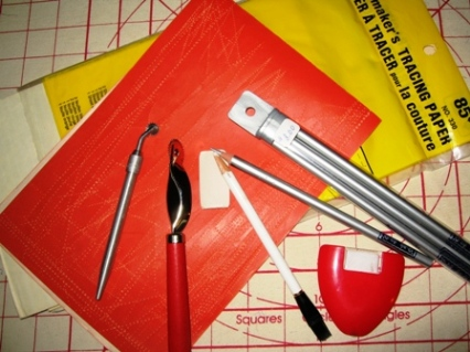 The correct marking tools will make the job easier.