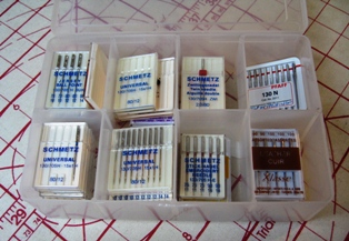 A Selection of Sewing Machine Needles