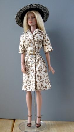 Tyler in Shirtwaist Dress