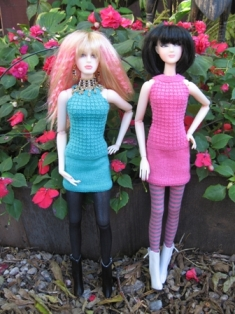 Knit Dresses by Daniel Bingham on Jamie and Ruyi