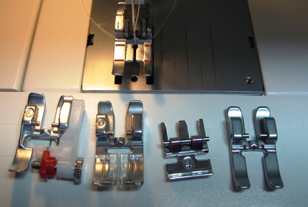 A Selection of Sewing Machine Feet