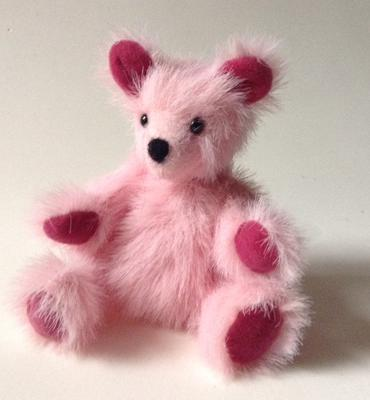 One of my bears, about 2 inches tall